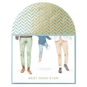 ⚡️5/$30⚡️Papyrus best dads ever, Father's Day card